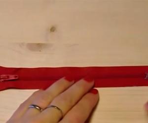 Come smontare e rimontare una lampo