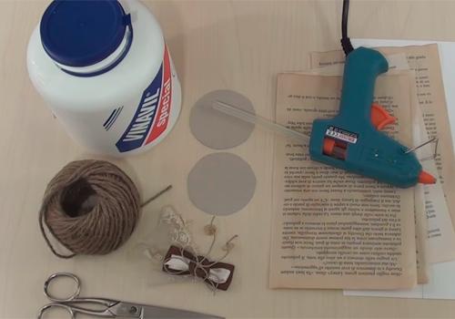 Porta riso e porta confetti  realizzati con la carta